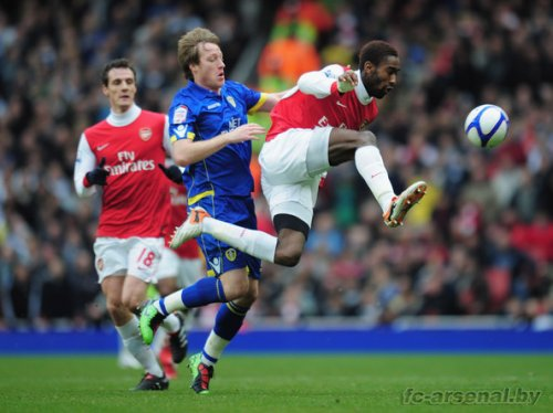 Фотообзор матча Arsenal v Leeds United - FA Cup 3rd Round