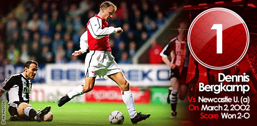 GGG1: Bergkamp v Newcastle United, 2002