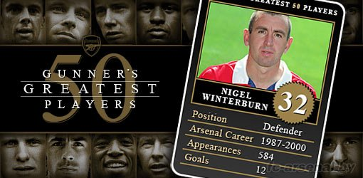 32. Nigel Winterburn