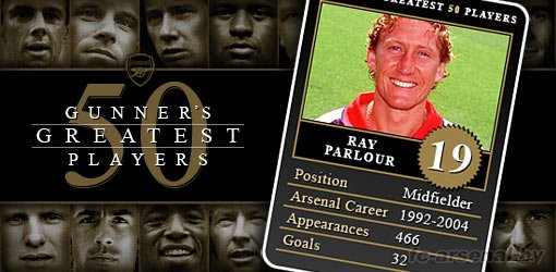 19. Ray Parlour