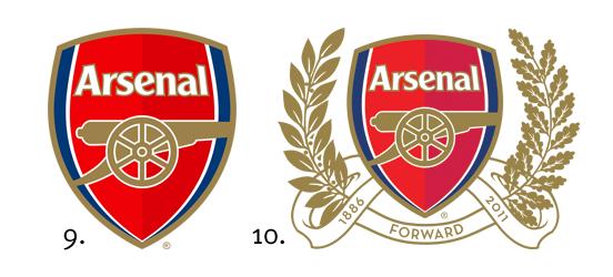 Новый герб арсенала лондон