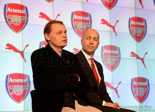 """PUMA и """"Арсенал"""" объявили о сотрудничестве"""