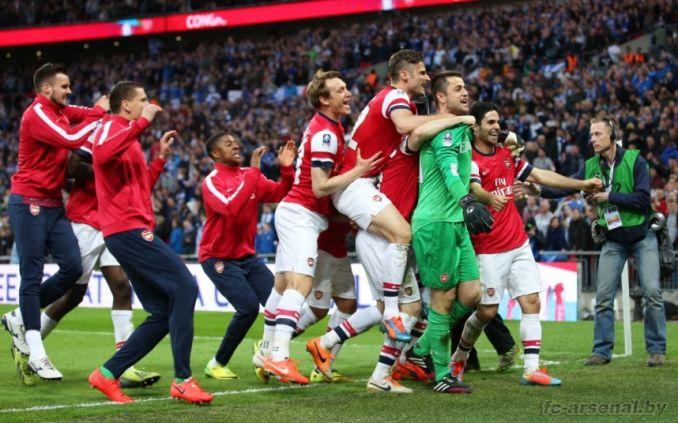 14 побед подряд в Кубке Англии. Фото