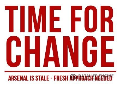 Болельщики «Арсенала» проведут акцию «Время для перемен»