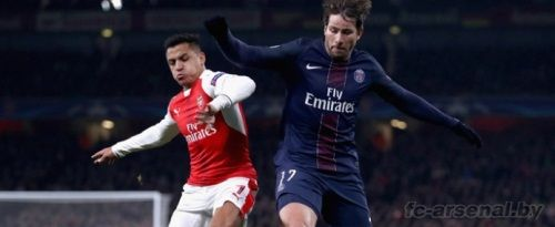 Лига чемпионов: Арсенал 2-2 ПСЖ. Отчет