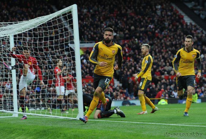 Фотоотчёт матча Манчестер Юнайтед - Арсенал