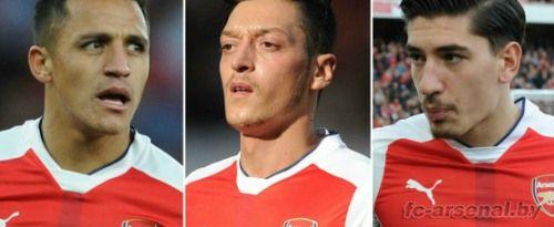 Трое игроков Арсенала попали в список номинантов на попадание в символическую сборную года