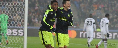 Лига чемпионов: Базель 1-4 Арсенал. Отчет