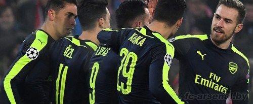 Обзор матча Базель - Арсенал
