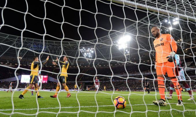 Фотоотчёт матча Вест Хэм - Арсенал