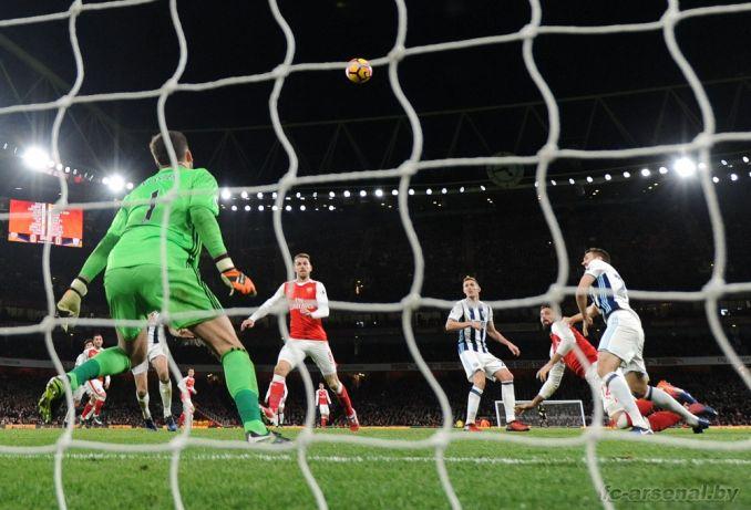 Фотоотчёт матча Арсенал - Вест Бромвич
