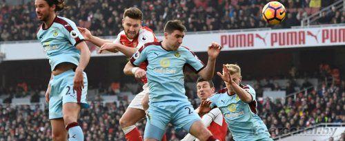 Премьер Лига: Арсенал 2-1 Бернли. Отчет