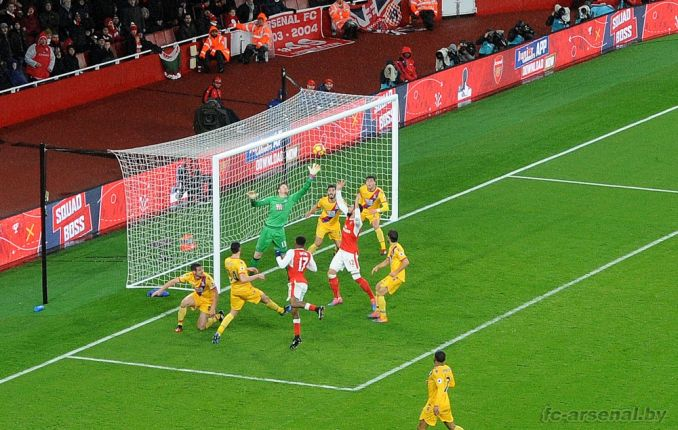 Фотоотчёт матча Арсенал - Кристал Пэлас