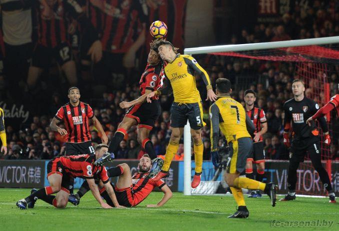 Фотоотчёт матча Борнмут - Арсенал