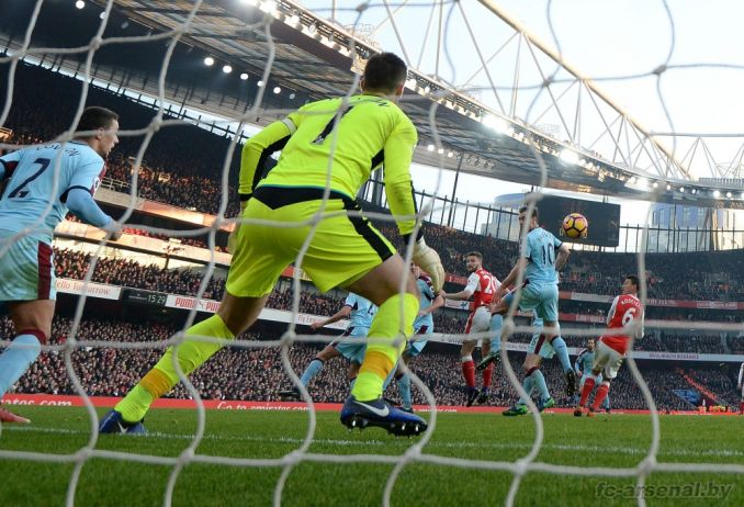 Фотоотчёт матча Арсенал - Бернли