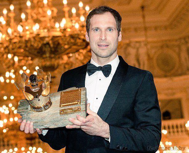 Петр Чех признан футболистом года в Чехии.
