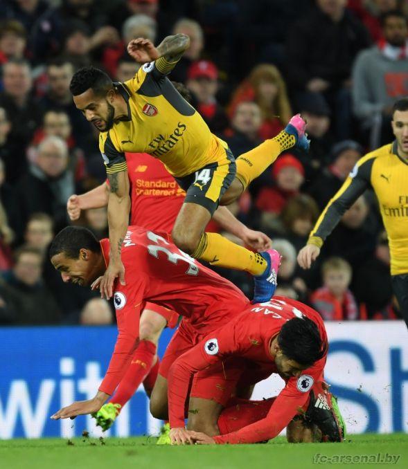 Фотоотчёт матча Ливерпуль - Арсенал