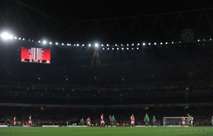 Фотоотчёт матча Арсенал - Линкольн