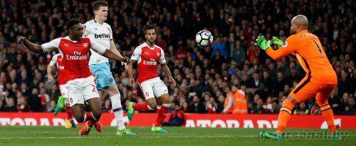 Премьер Лига: Арсенал 3-0 Вест Хэм. Отчет