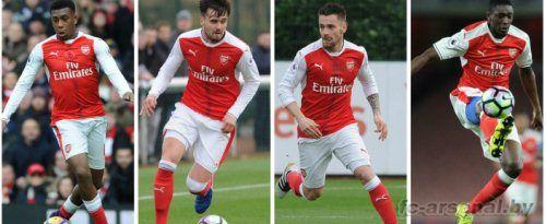 U23: Рединг 2-5 Арсенал. Отчет
