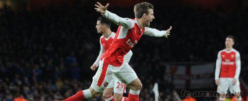 Премьер Лига: Арсенал 1-0 Лестер. Отчет