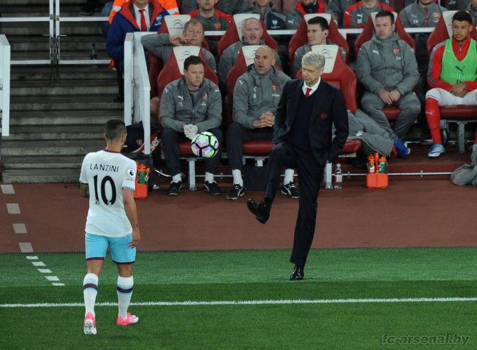 Фотоотчёт матча Арсенал - Вест Хэм