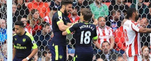 Премьер Лига: Сток Сити 1-4 Арсенал. Отчет