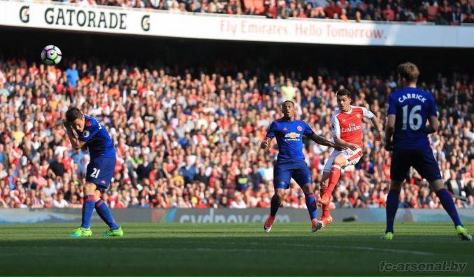 Фотоотчёт матча Арсенал - Манчестер Юнайтед