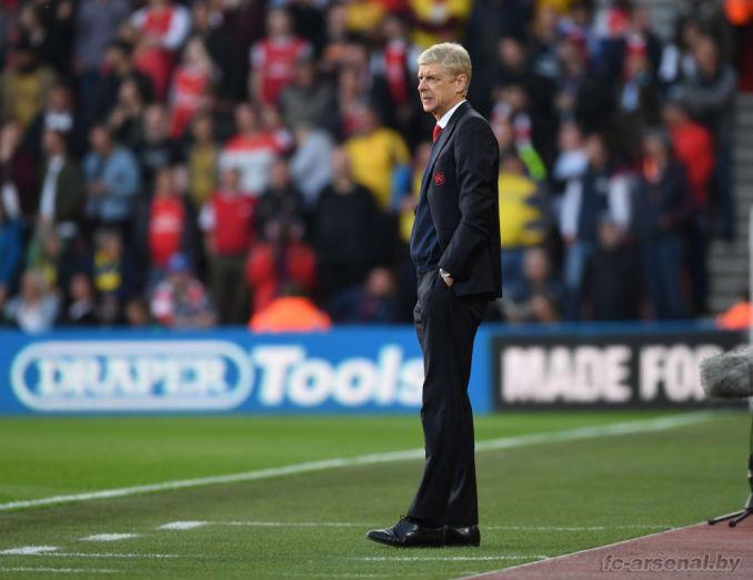 Фотоотчёт матча Саутгемптон - Арсенал
