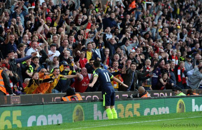 Фотоотчёт матча Сток Сити - Арсенал