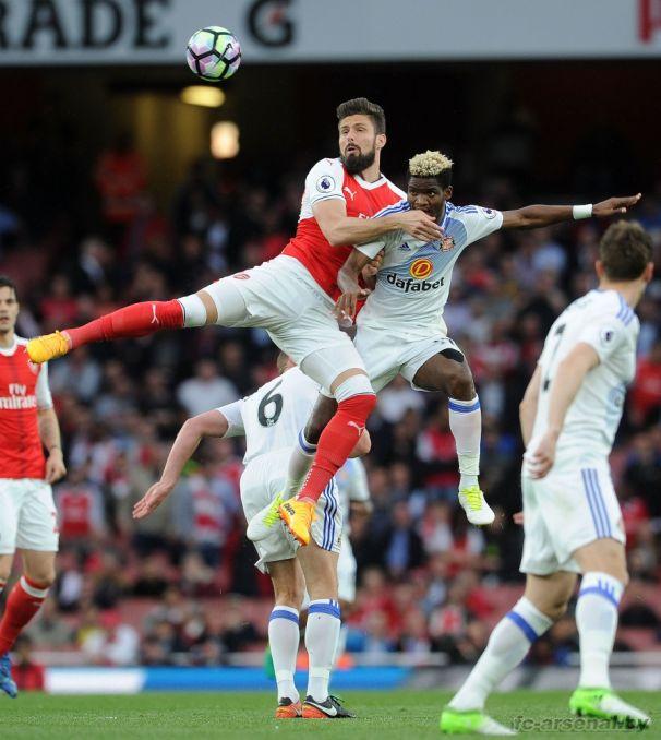 Фотоотчёт матча Арсенал - Сандерленд