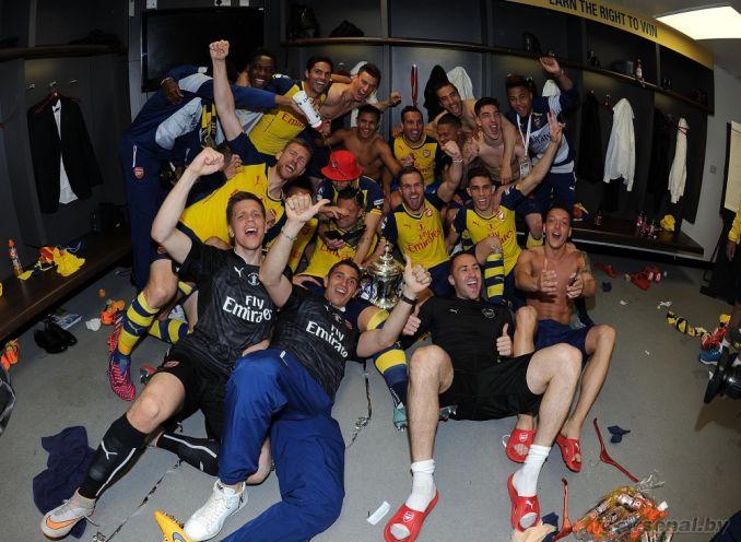 Венгер и Кубок Англии. Фото