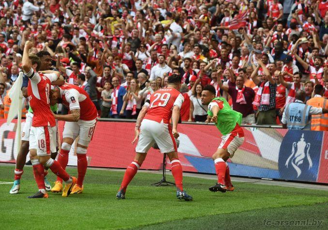 Фотоотчёт матча Арсенал - Челси