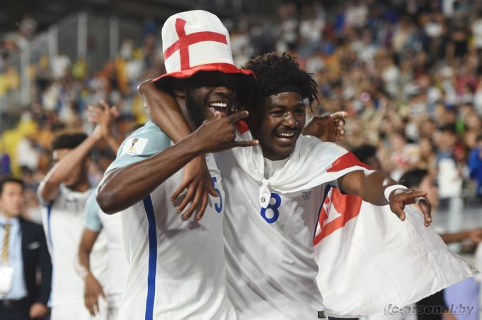 Канониры в сборных: Мэйтленд-Найлз с Англией выиграл чемпионат мира до 20 лет