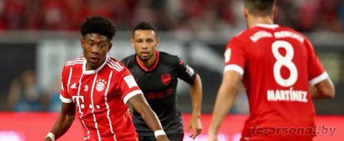 Тур по Китаю: Бавария 1-1 Арсенал. Отчет