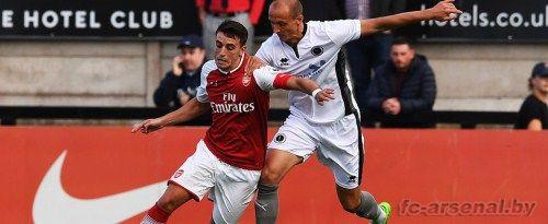 Товарищеский матч: Борхэм Вуд 0-4 Арсенал. Отчет