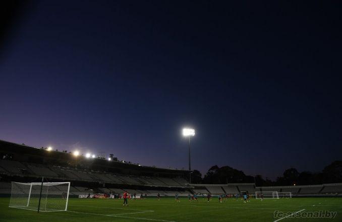 Тренировка Арсенала в Сиднее. Фото
