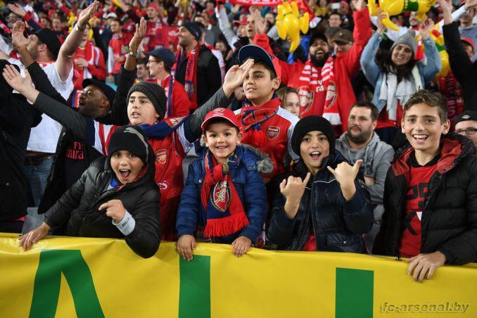 Фотоотчёт матча Сидней - Арсенал