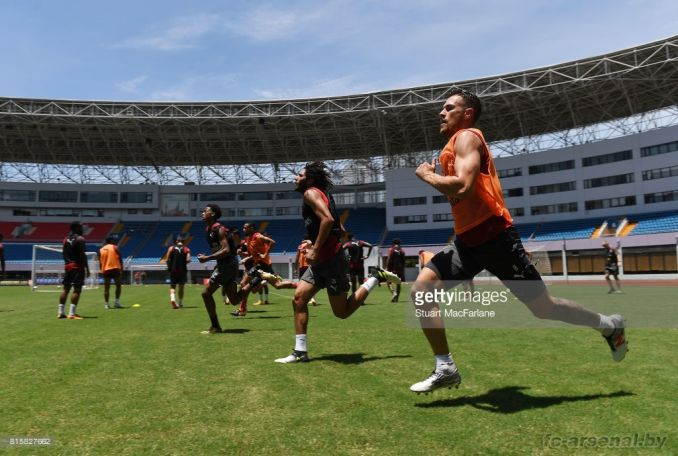 Тренировка в Шанхае. Фото
