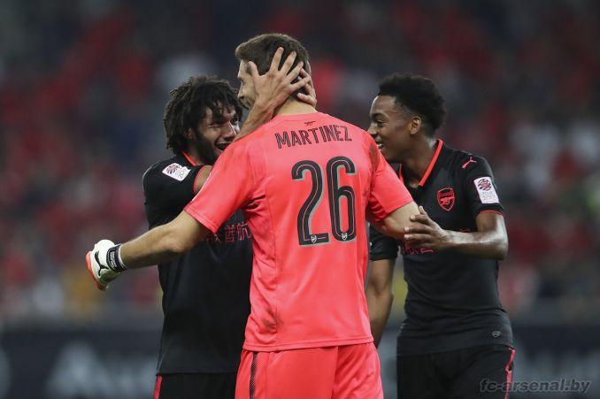 Фотоотчёт матча Бавария - Арсенал