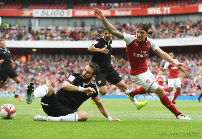 Фотоотчёт матча Арсенал - Севилья
