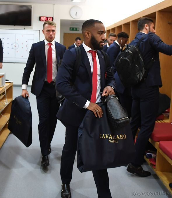 Фотоотчёт матча Арсенал - Лестер