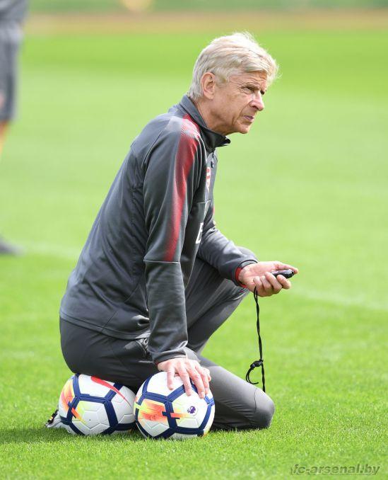 Тренировка перед матчем с Ливерпулем