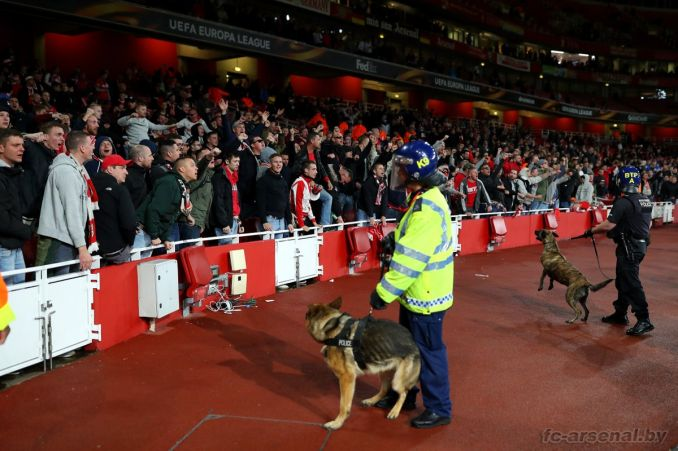 Фотоотчёт матча Арсенал - Кёльн