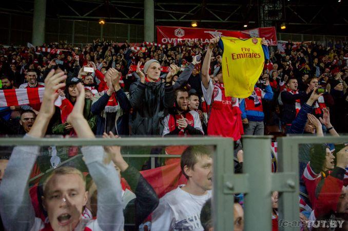 Фотоотчёт матча БАТЭ - Арсенал