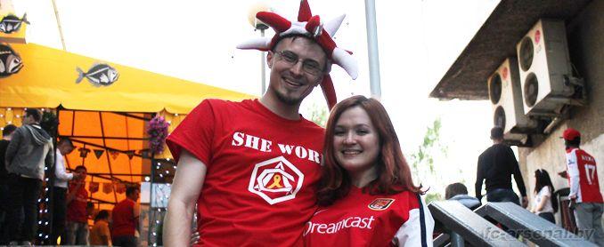 Это останется у всех в памяти. История пребывания Арсенала в Беларуси