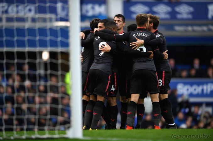 Фотоотчёт матча Эвертон - Арсенал