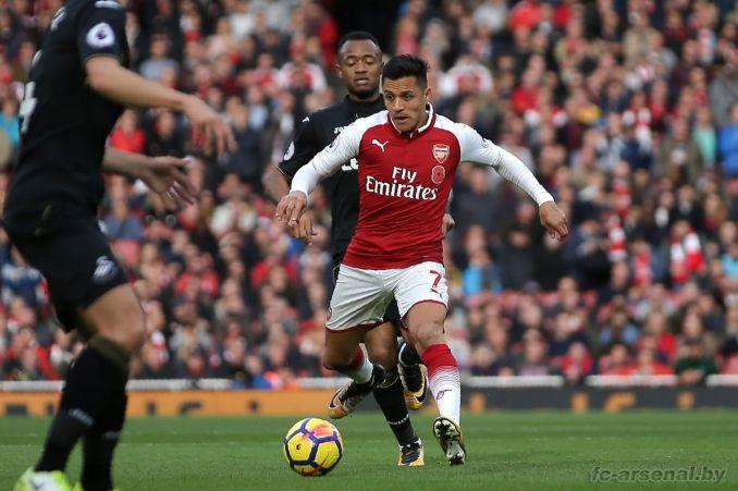 Фотоотчёт матча Арсенал - Суонси