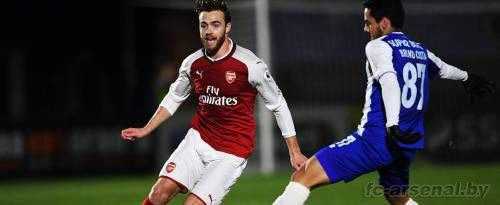 U23: Арсенал 1-0 Порту. Отчет
