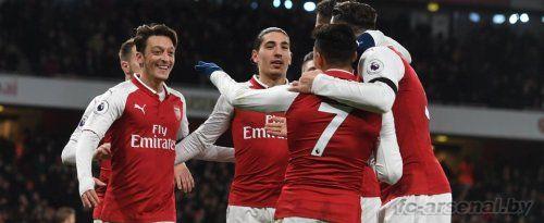 Премьер-лига: Арсенал 5-0 Хаддерсфилд. Отчёт